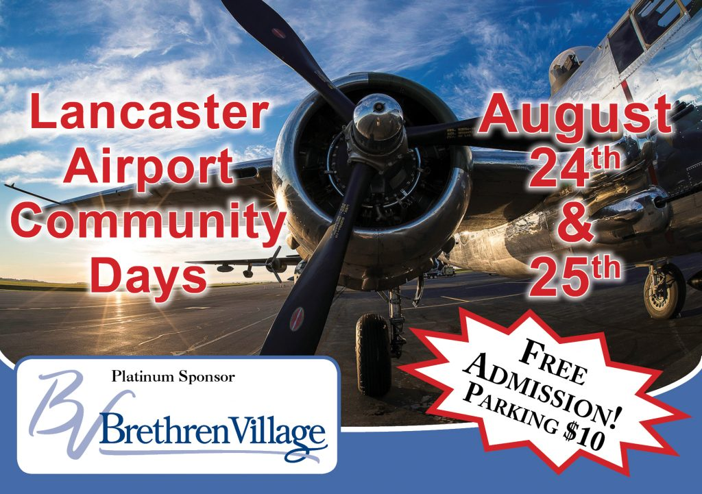 Lancaster Airport – Fly out of Lancaster, PA